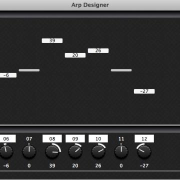The Arp Designer Module.
