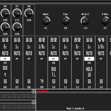 The Sequencer Module displaying the Settings.